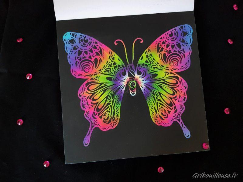 Papillon à gratter 2