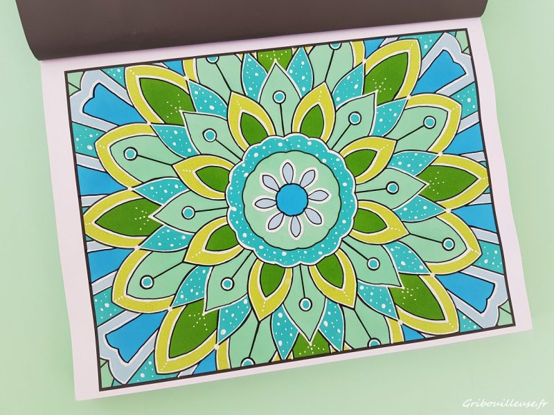 100 Magical Patterns de Jade Summer – Premier coloriage
